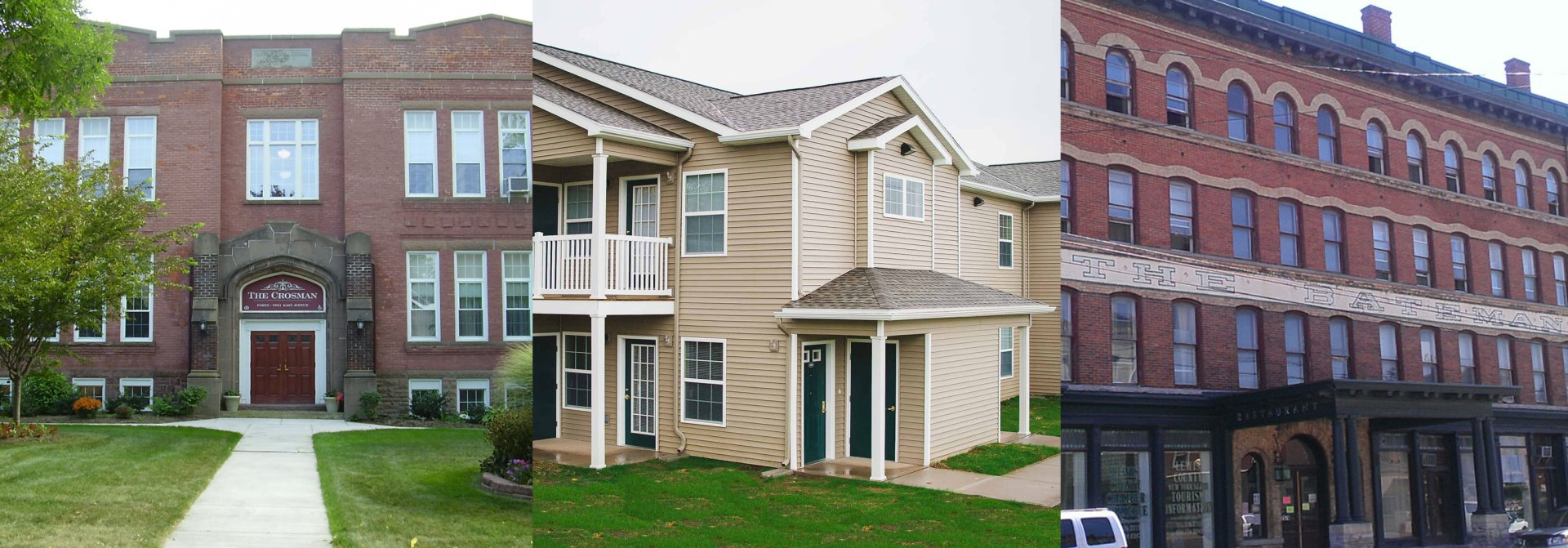 Collage of Apartments (Exteriors)