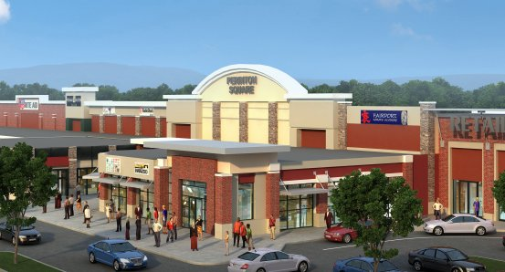 Perinton Square Future Development Rendering - 2