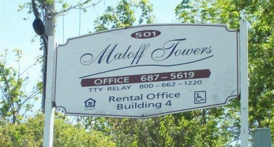 Maloff Towers sign.jpg